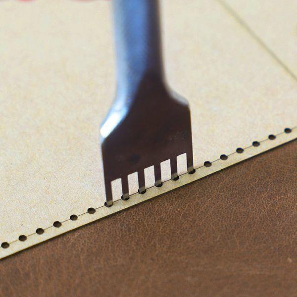◆1円~ 最安◆レザークラフト ツール クラフト紙 ステンシル Diy 手作り バックパック デザイン テンプレート 縫製 リュック タイプB_画像3