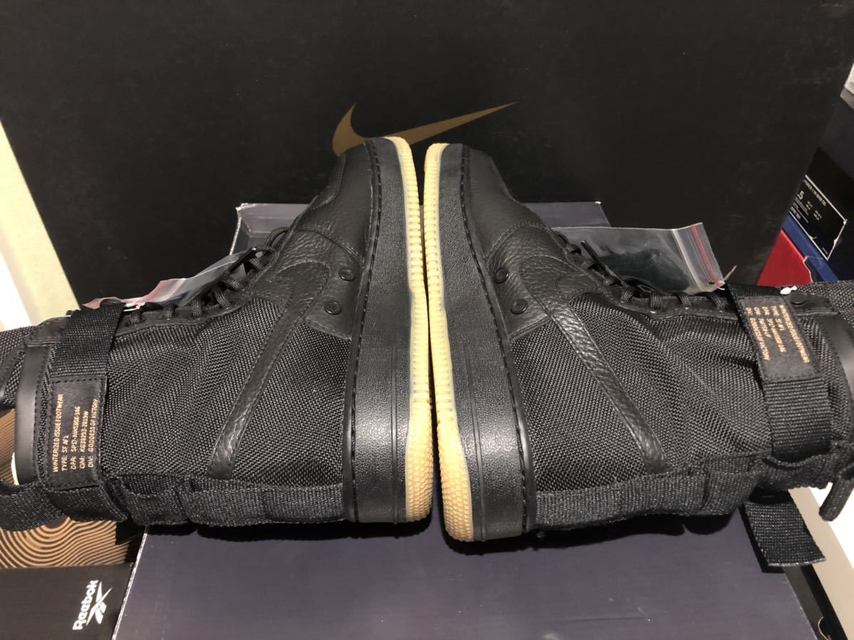 Nike Special Field Air Force1(フォース)黒ガム us9(27cm)新品_画像4