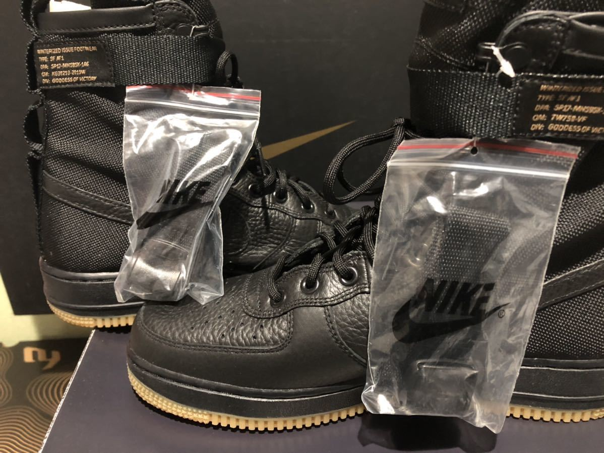 Nike Special Field Air Force1(フォース)黒ガム us9(27cm)新品_画像5