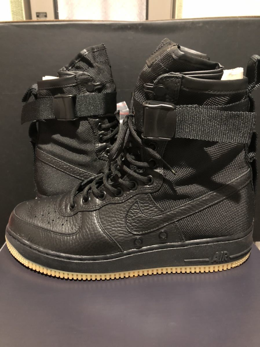Nike Special Field Air Force1(フォース)黒ガム us9(27cm)新品_画像2