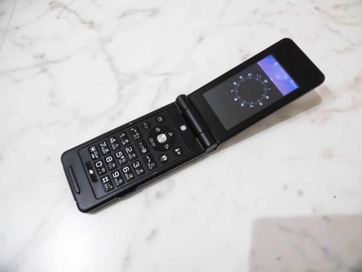 【美品】 判定〇 NTTdocomo P-07B ドコモ Black ブラック Panasonic パナソニック 携帯電話 ガラケー_画像5