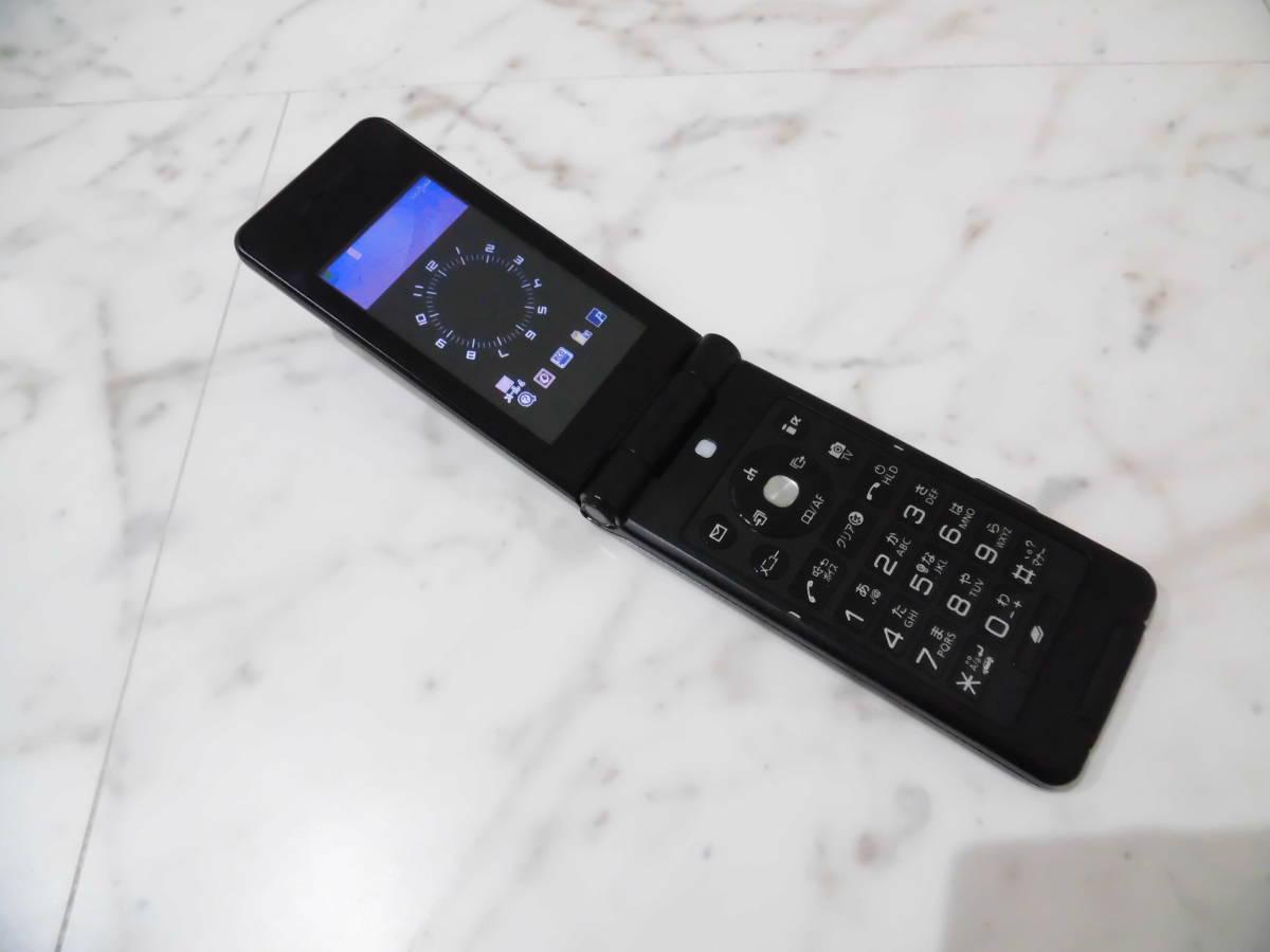 【美品】 判定〇 NTTdocomo P-07B ドコモ Black ブラック Panasonic パナソニック 携帯電話 ガラケー_画像6