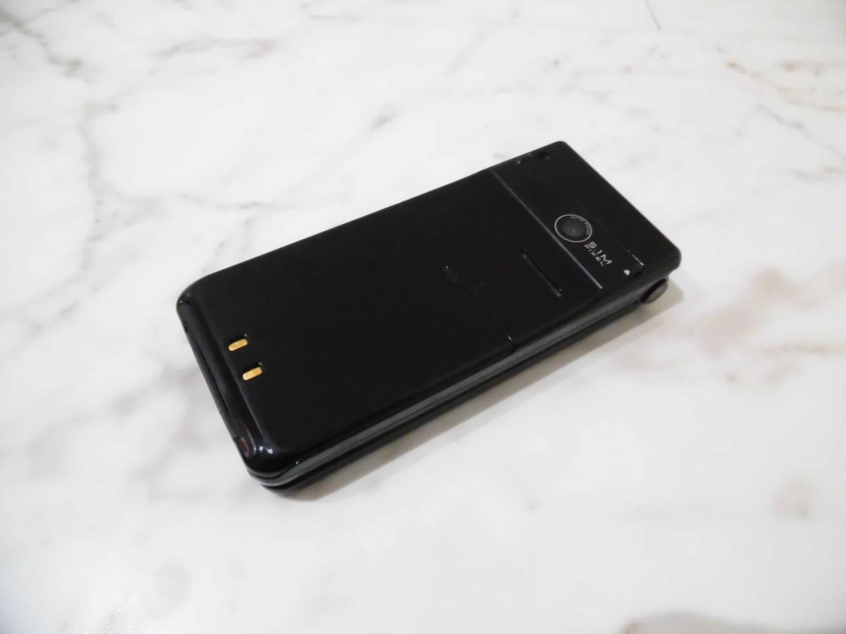 【美品】 判定〇 NTTdocomo P-07B ドコモ Black ブラック Panasonic パナソニック 携帯電話 ガラケー_画像7