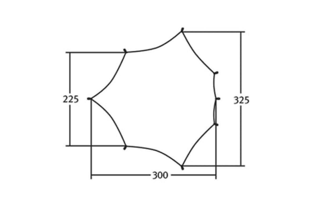 ヴィクセルテント ウイングタープ ゼロGライン M 【新品未使用/激レア】