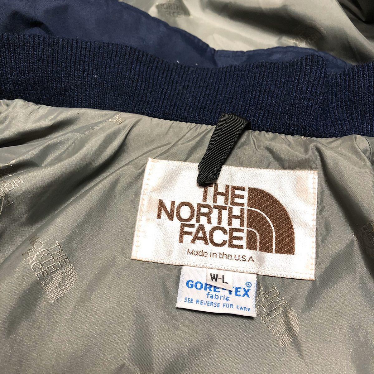 The North Face 茶タグ マウンテン パーカー ネイビー ゴアテックス GORE-TEX USA製 THE NORTH FACE マウンテンパーカー