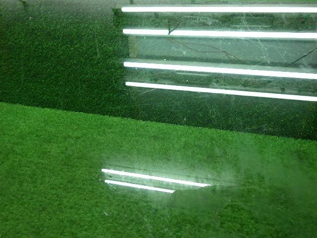 トヨタ 60系 ランドクルーザー  左側 リアクォーターガラス 190409040_画像3