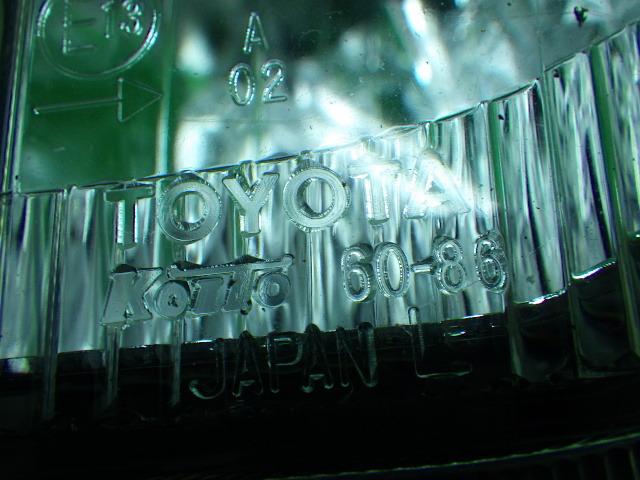 トヨタ 90 ランドクルーザープラド 左コーナーレンズ 200218141_画像8