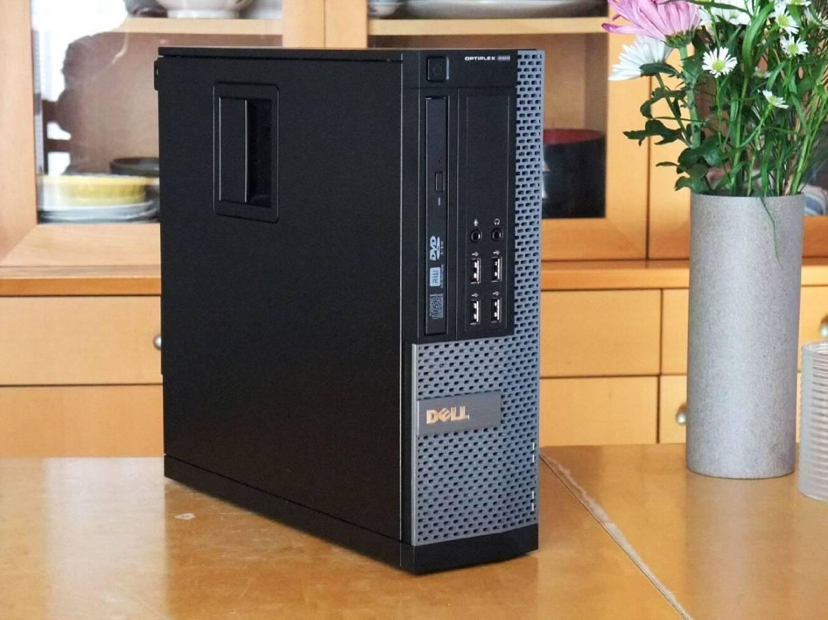 ◆超高速 i7-3770 3.9Gx8/新品SSD960G/HDD2TB/大容量20Gメモリ/USB3.0/Win10/Office2019/税不要/領収証可/Optiplex7010
