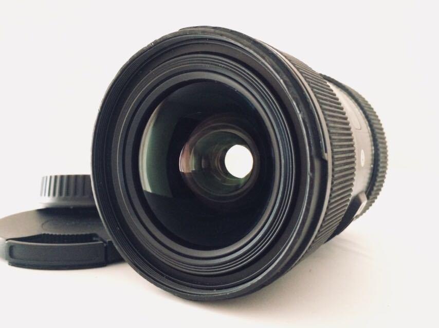 光学きれい★実用良品★SIGMA シグマ Art 18-35mm F 1.8 DC HSM Canon ★完動品★フード付き_画像1