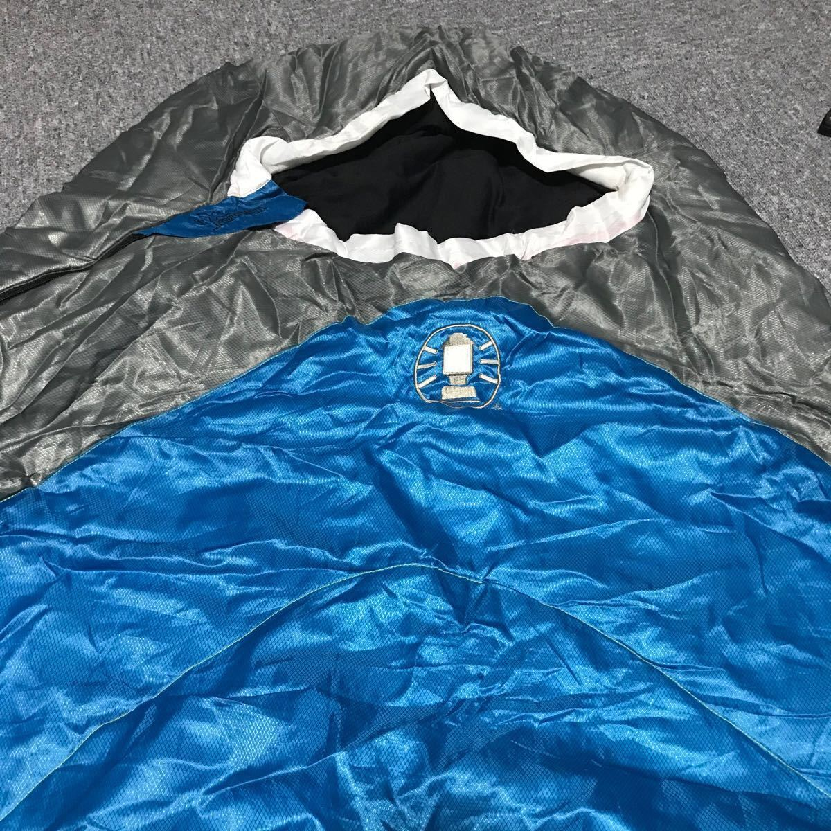 コールマンマミー型寝袋タスマンX0