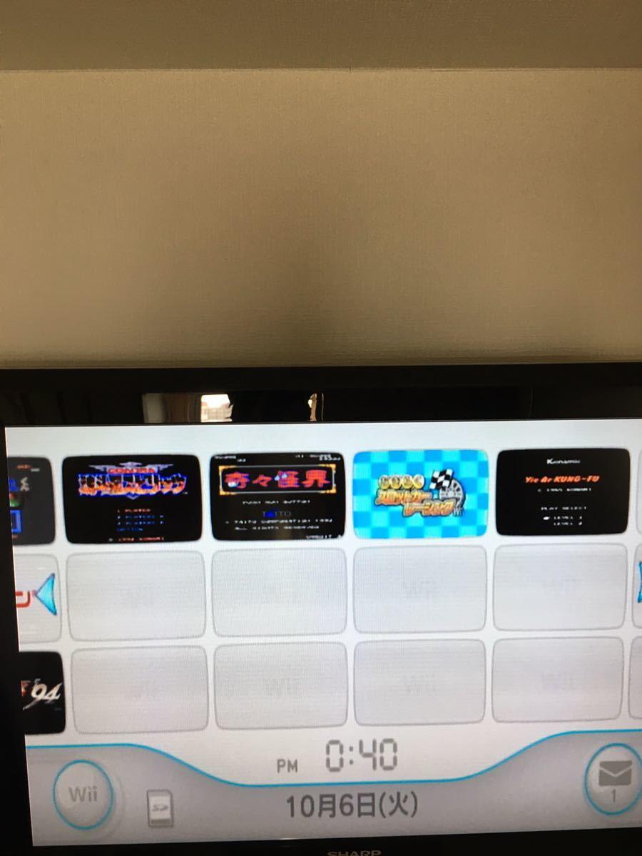Wii 本体のみ 内蔵ソフト19本