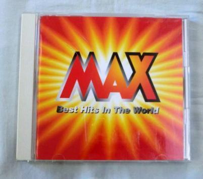 MAX Best Hits In The World 国内盤 BASIA,SADE,MARIAH C,BILLY JOEL,JAMIROQUAI,MICHAEL JACKSON,SIMON & GARFUNKEL,PRIMAL SCREAM他