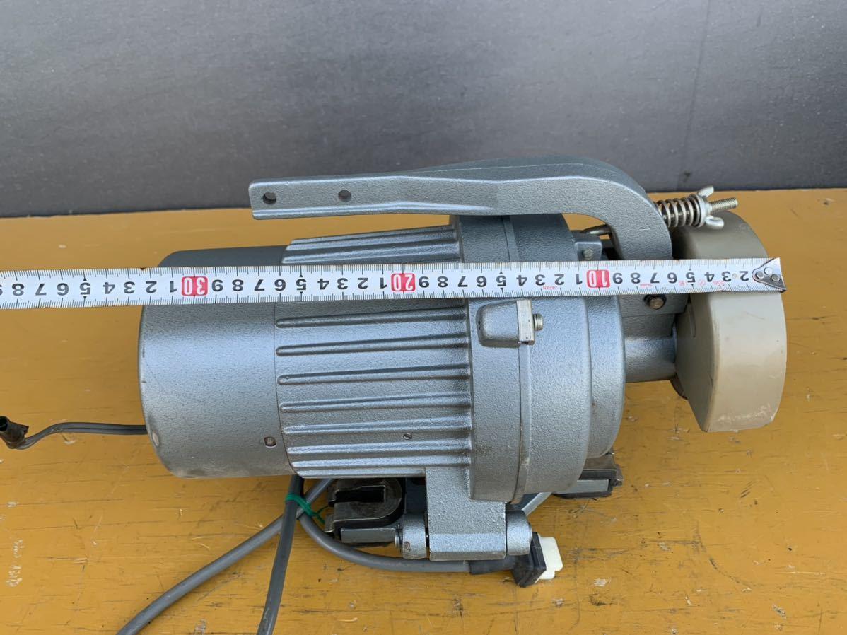 CLUTCH MOTOR クラッチモーター 職業用ミシン 工業用ミシン・ミシンモーター スイッチ 付 AC100V 200v_画像5