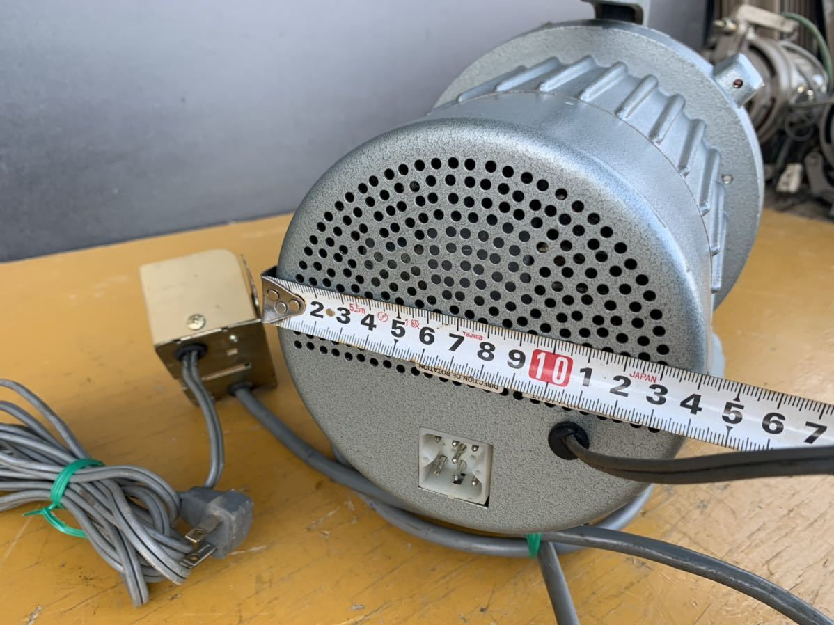 CLUTCH MOTOR クラッチモーター 職業用ミシン 工業用ミシン・ミシンモーター スイッチ 付 AC100V 200v_画像6