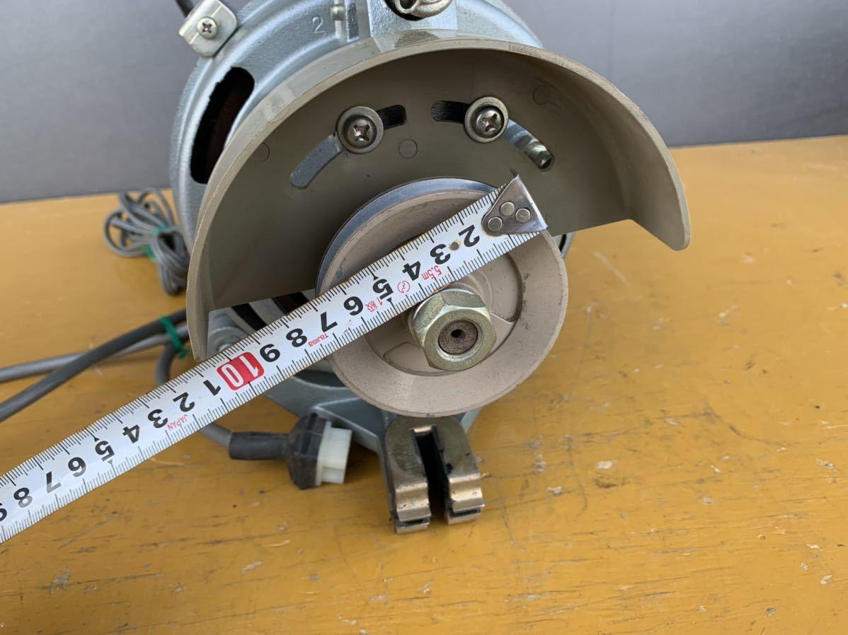 CLUTCH MOTOR クラッチモーター 職業用ミシン 工業用ミシン・ミシンモーター スイッチ 付 AC100V 200v_画像4