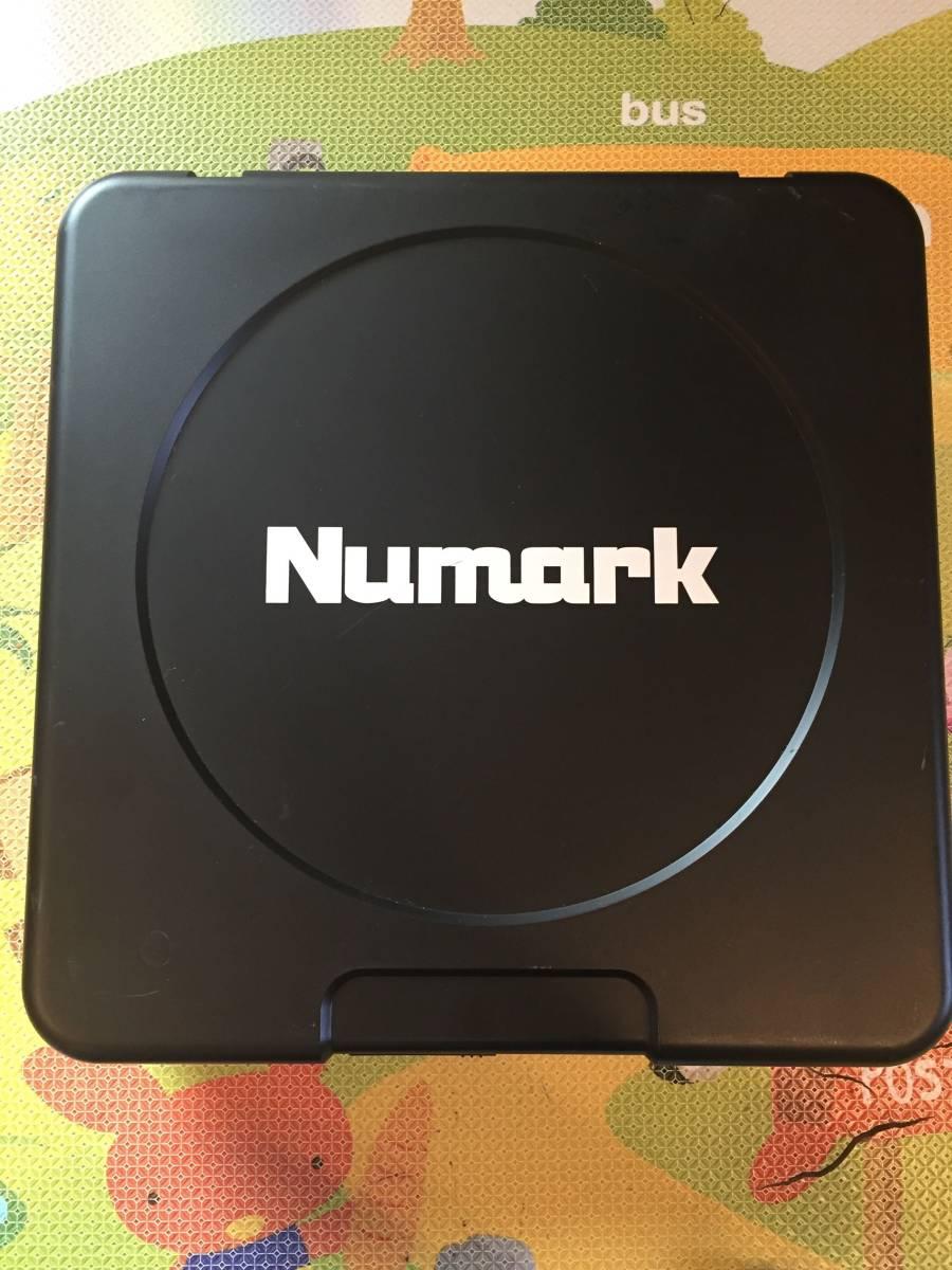 【1円スタート】ジャンク Numark スクラッチ・ターンテーブル スピーカー内蔵 乾電池対