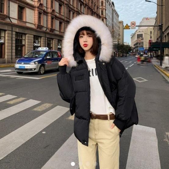 ダウンジャケット 中綿 秋冬 防寒コートオルチャン 韓国 ホワイト