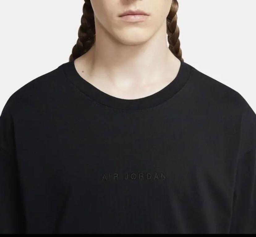 Fragment Jordan Nike Tシャツ 黒XS_画像1