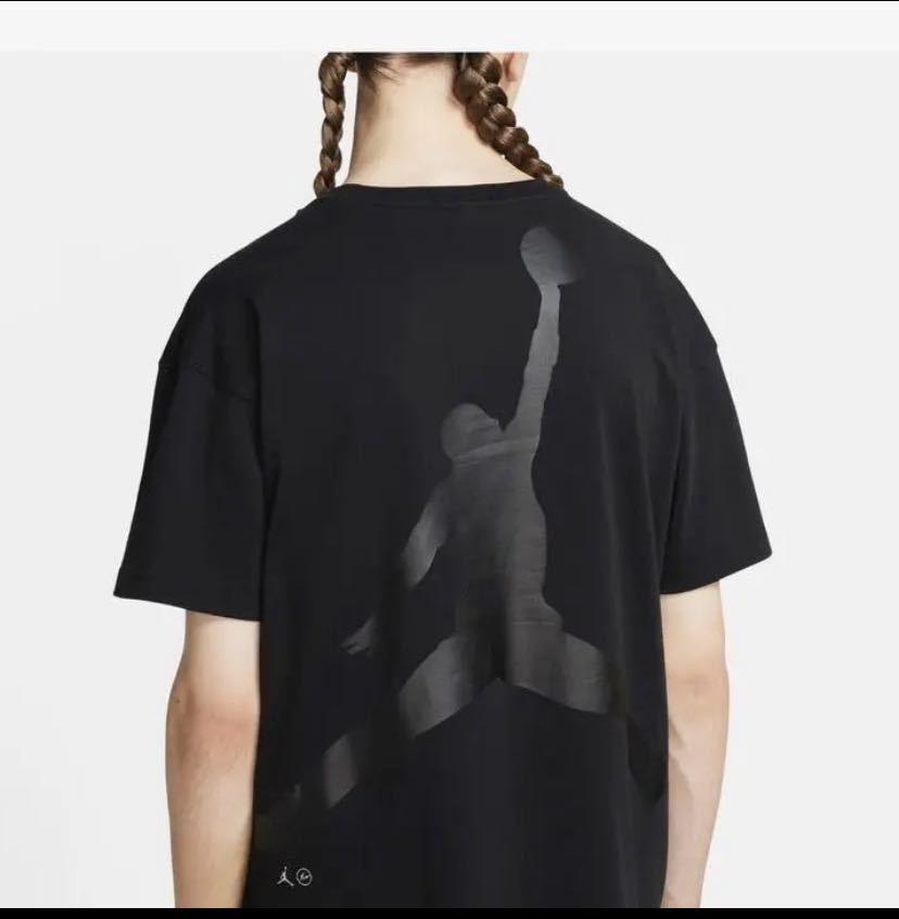 Fragment Jordan Nike Tシャツ 黒XS_画像2