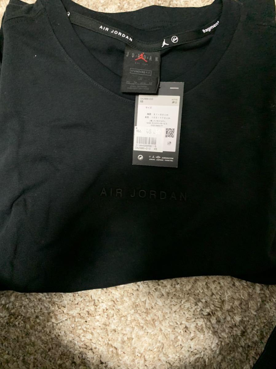 Fragment Jordan Nike Tシャツ 黒XS_画像4