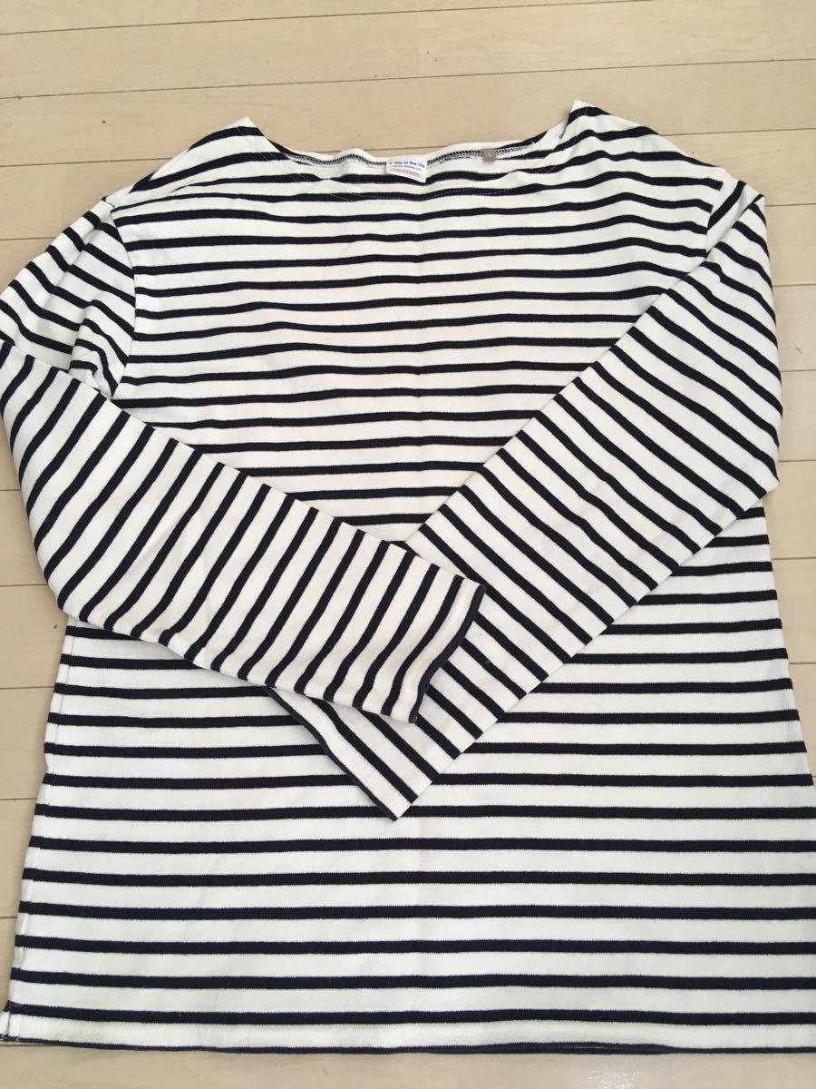ユナイテッドアローズ UNITED ARROWS バスクシャツ