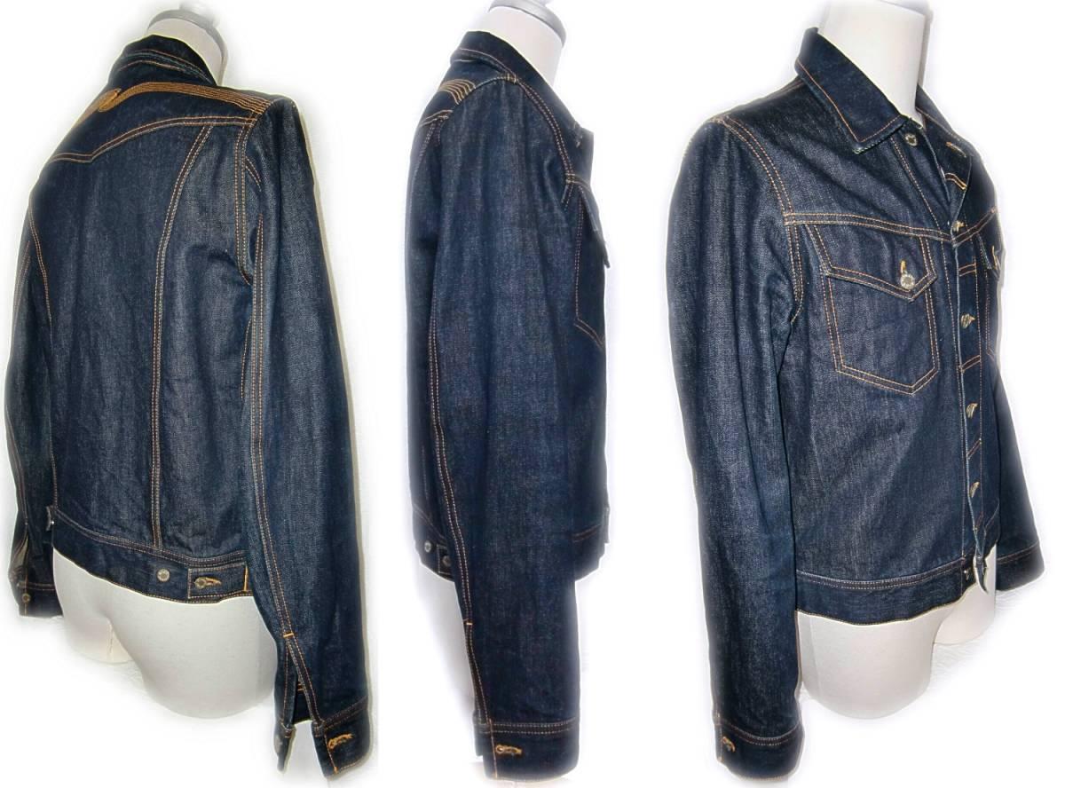 Nudie Jeans 【CONNY】 M 【管45-2】 デニムジャケット_画像2