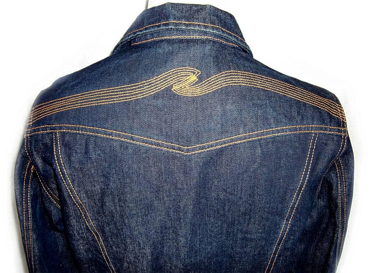 Nudie Jeans 【CONNY】 M 【管45-2】 デニムジャケット_画像7