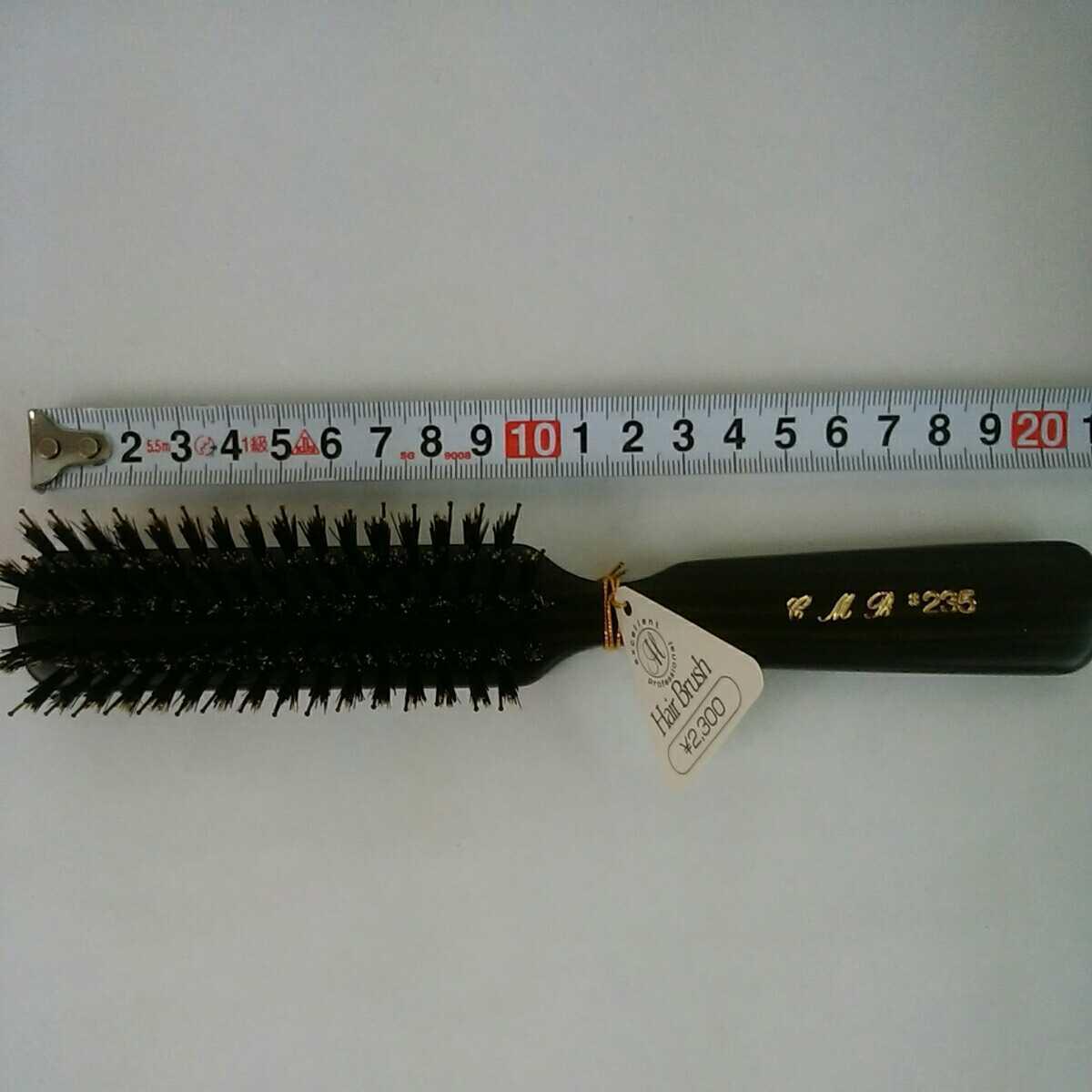 ヘアブラシ3本セット メンズ 理容師 理美容品 天然木 猪毛 仕上げブラシ _画像4