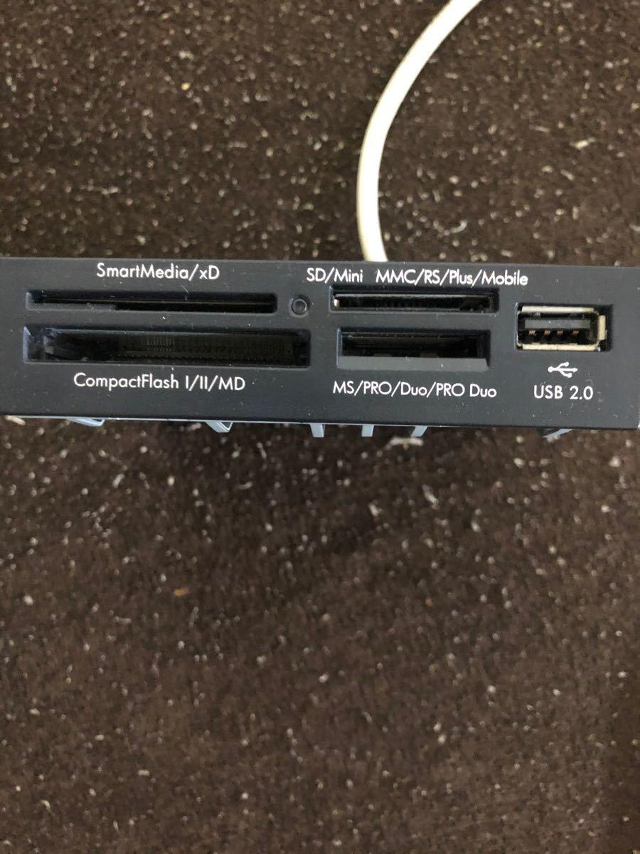 USB2.0 メモリーカードリーダー