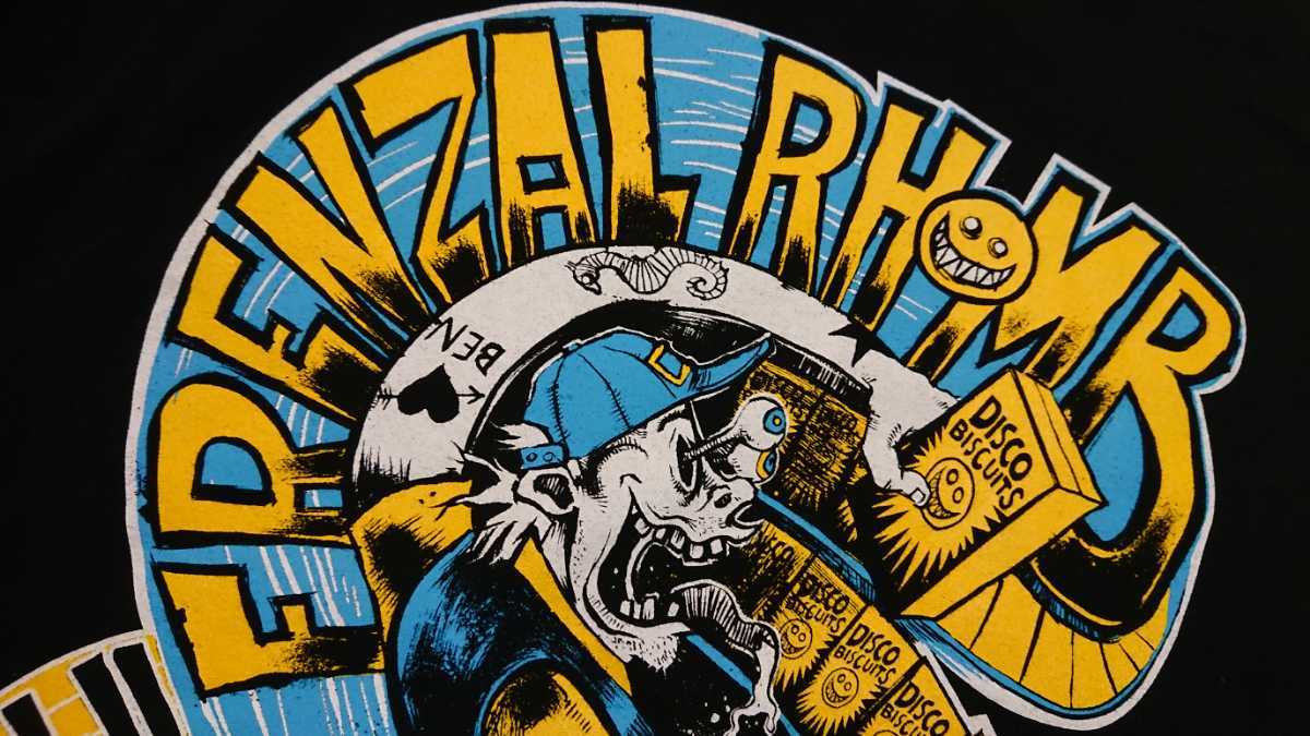 frenzal rhomb Tシャツ L USED supreme / nofx lagwagon jughead revenge bad religion offspring pennywise no use for a name