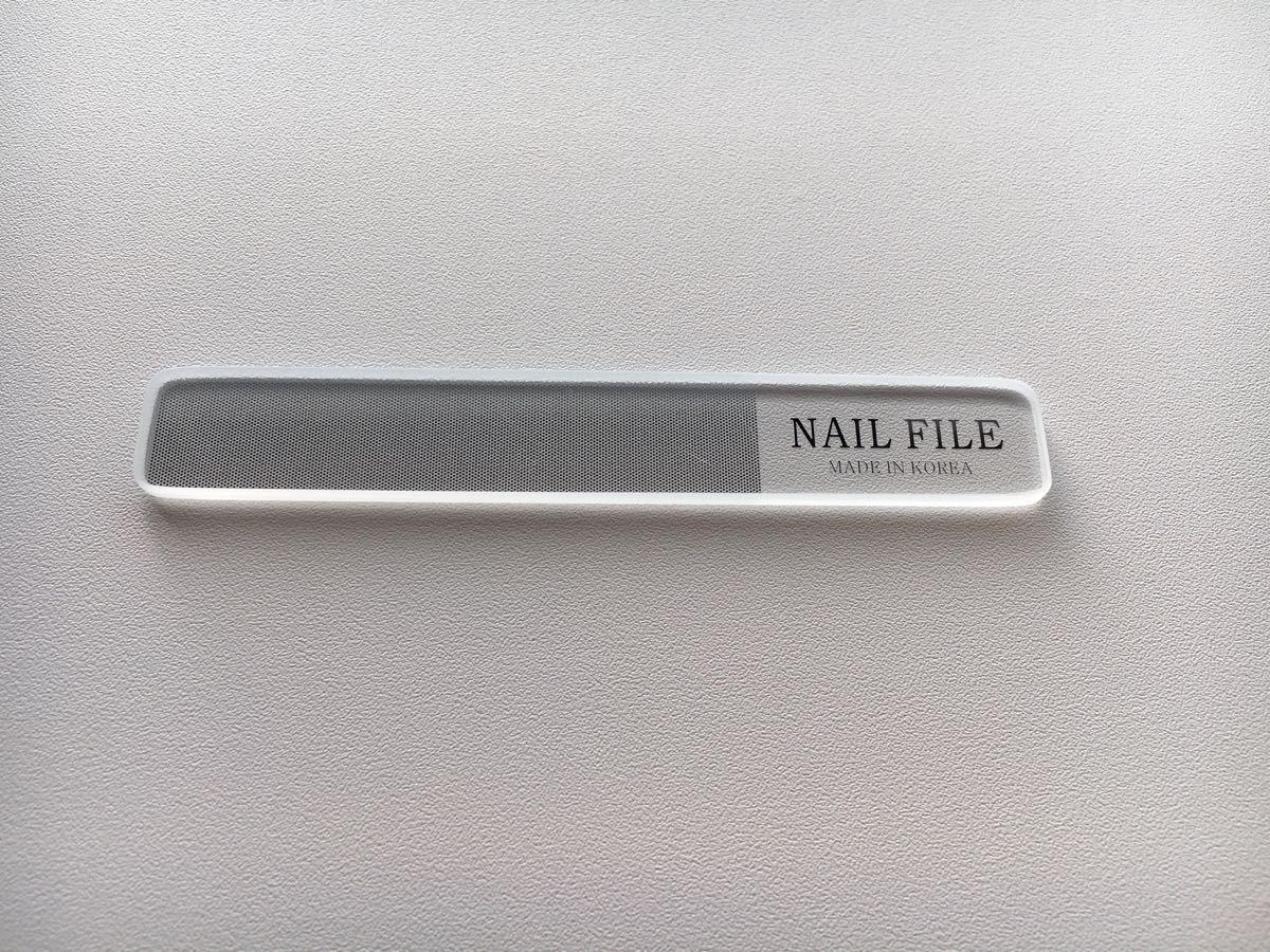 【NAIL FILE】 耐久ガラス製のネイルシャイナー 爪 磨き ケア コスメ4