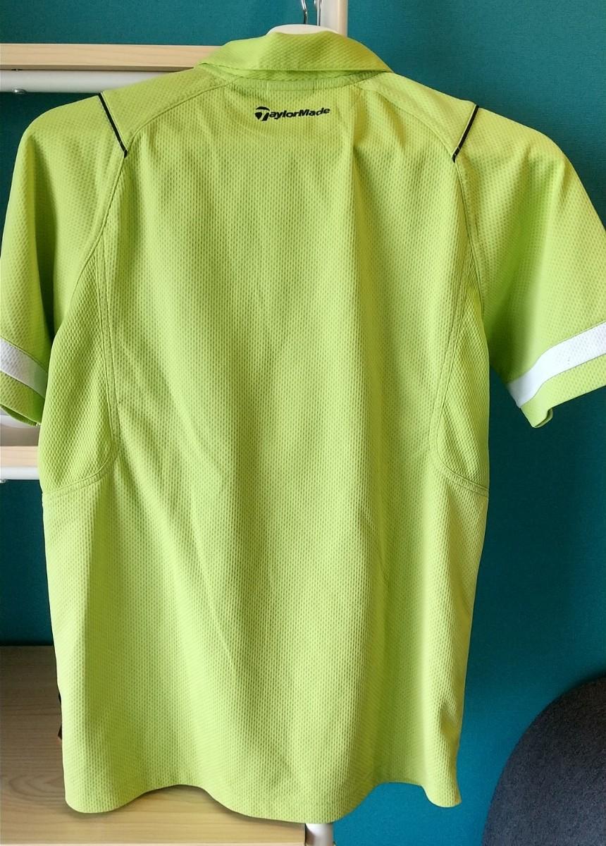 ポロシャツ メンズ テーラーメイド 半袖 黄緑