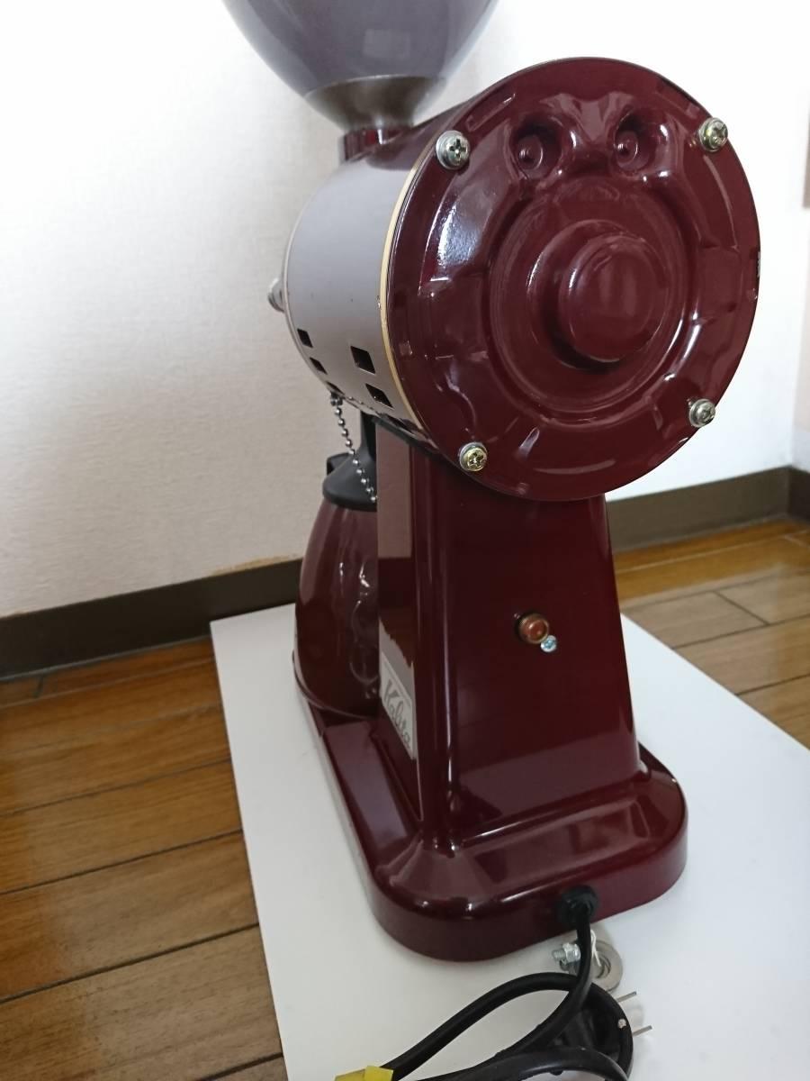 カリタ ハイカットミル 縦型 電動コーヒーミル 業務用 Kalita ミル機 店舗 家庭用調理器具_画像4