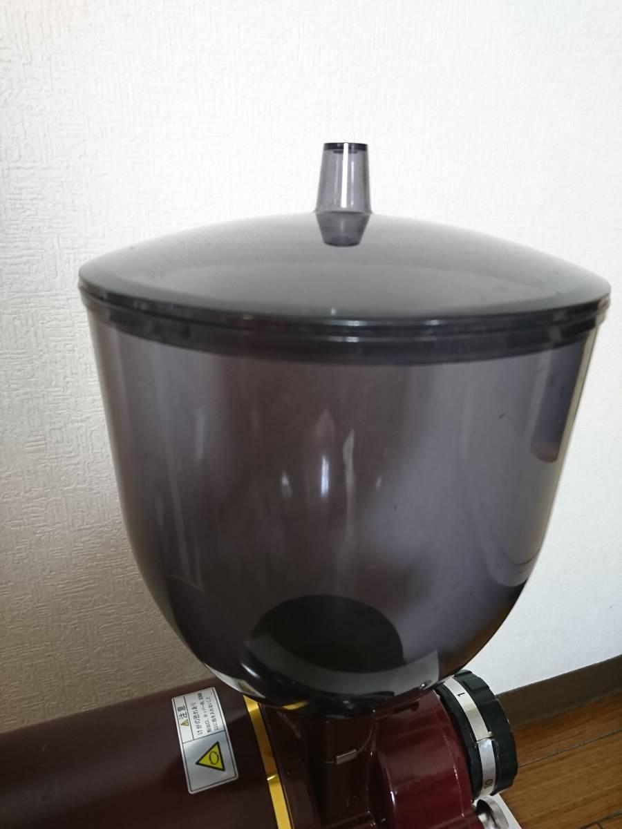 カリタ ハイカットミル 縦型 電動コーヒーミル 業務用 Kalita ミル機 店舗 家庭用調理器具_画像5