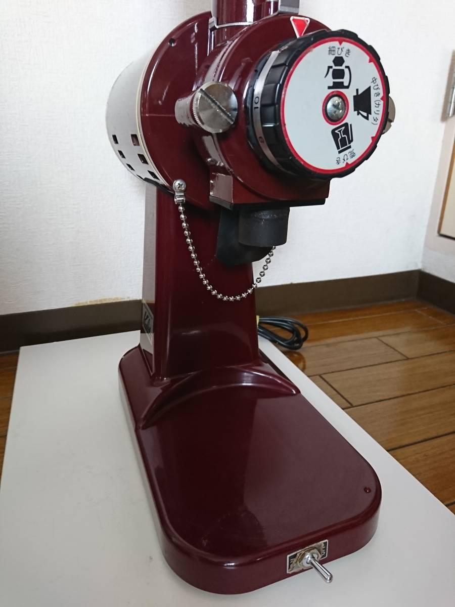 カリタ ハイカットミル 縦型 電動コーヒーミル 業務用 Kalita ミル機 店舗 家庭用調理器具_画像6