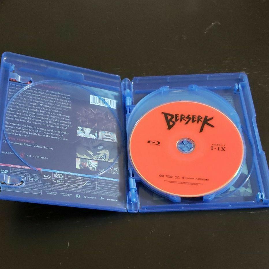 送料無料 ベルセルク(2016) 第1期ブルーレイ 北米版