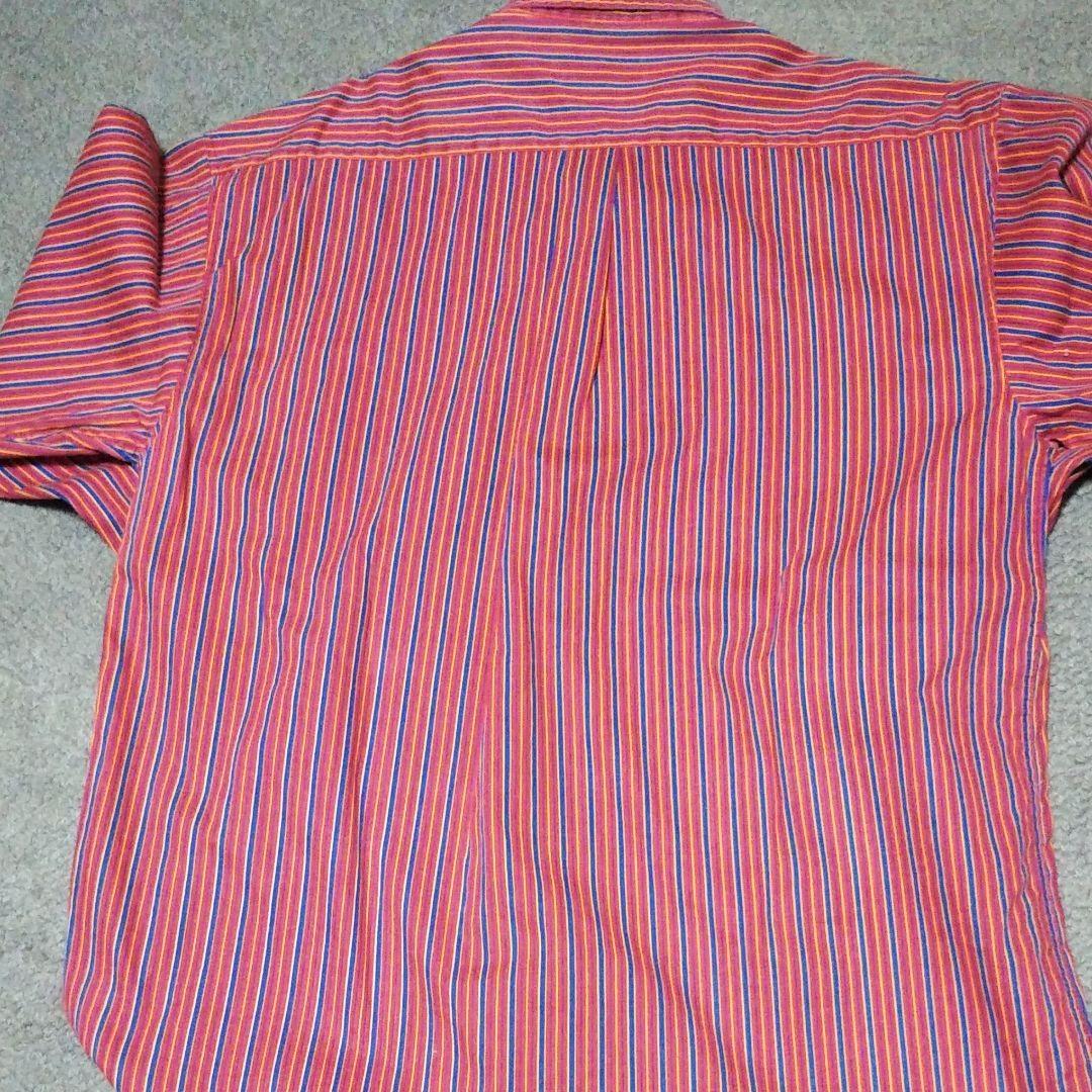 ストライプ 長袖シャツ