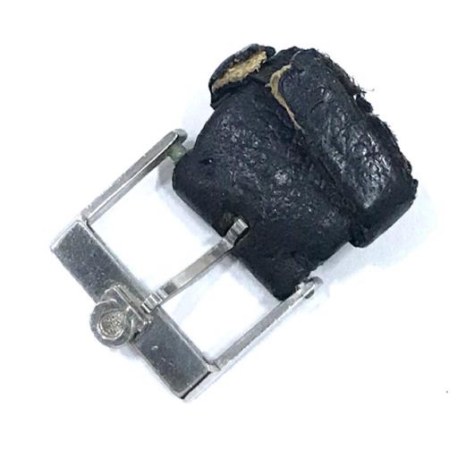 313837 1円 オメガ Geneve ジュネーブ 手巻き 腕時計 スクエアフェイス 青文字盤 メンズ 稼働品 社外ベルト OMEGA_画像7