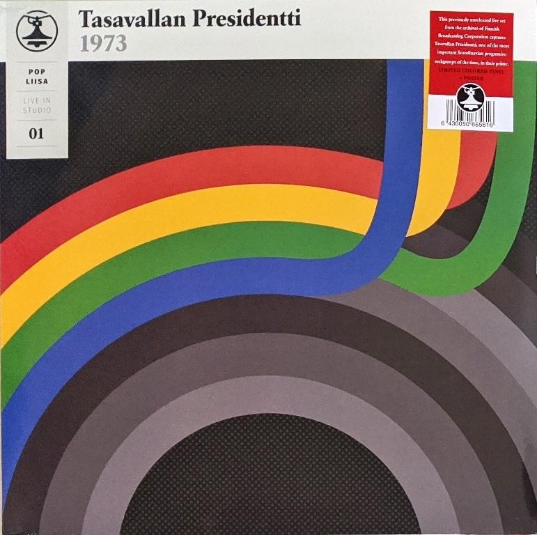 Tasavallan Presidentti - Pop Liisa 01 Live at Liisankatu Studios 300枚限定ブルー・カラー・アナログ・レコード