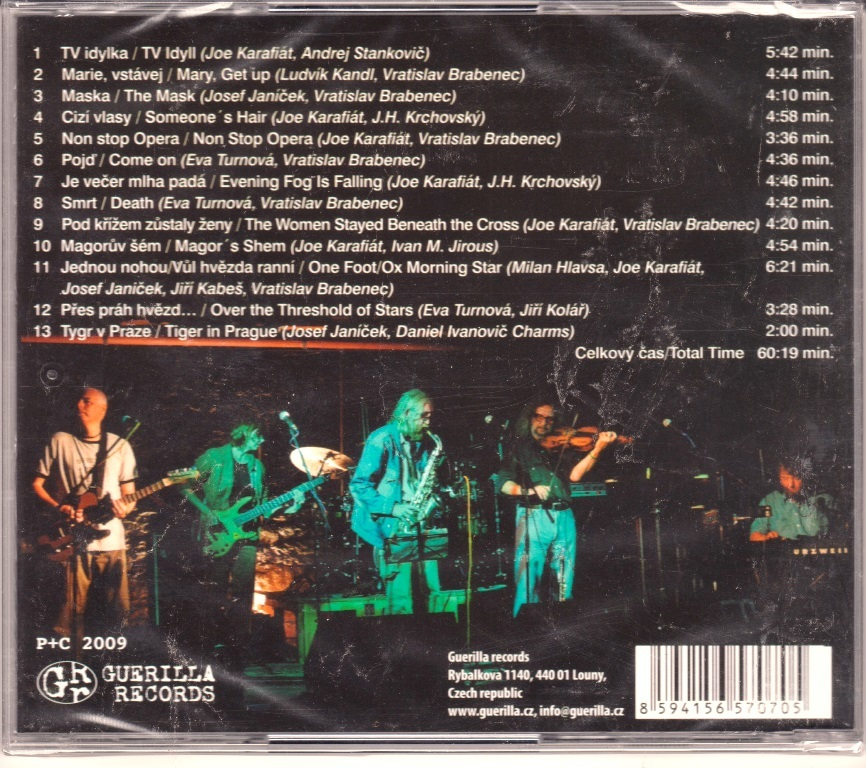 The Plastic People Of The Universe - Maska Za Maskou (The Mask Behind The Mask) CD