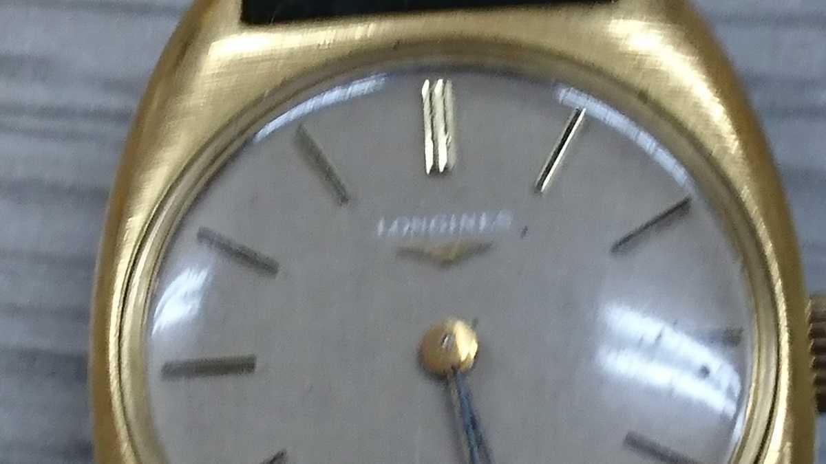 LONGINES ロンジン アンティーク 手巻き 腕時計 _画像3