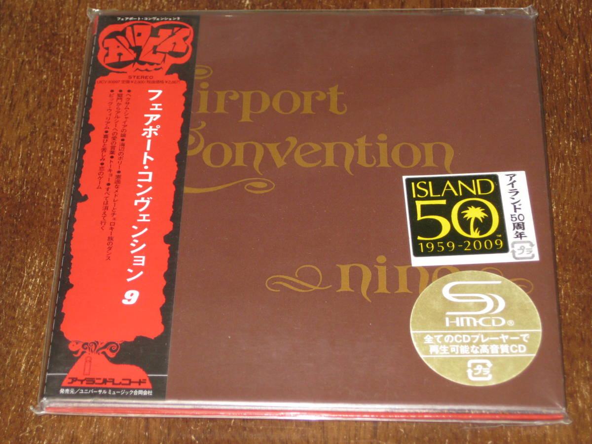 FAIRPORT CONVENTION フェアポート・コンベンション / ナイン 2009年リマスターCD 国内帯有