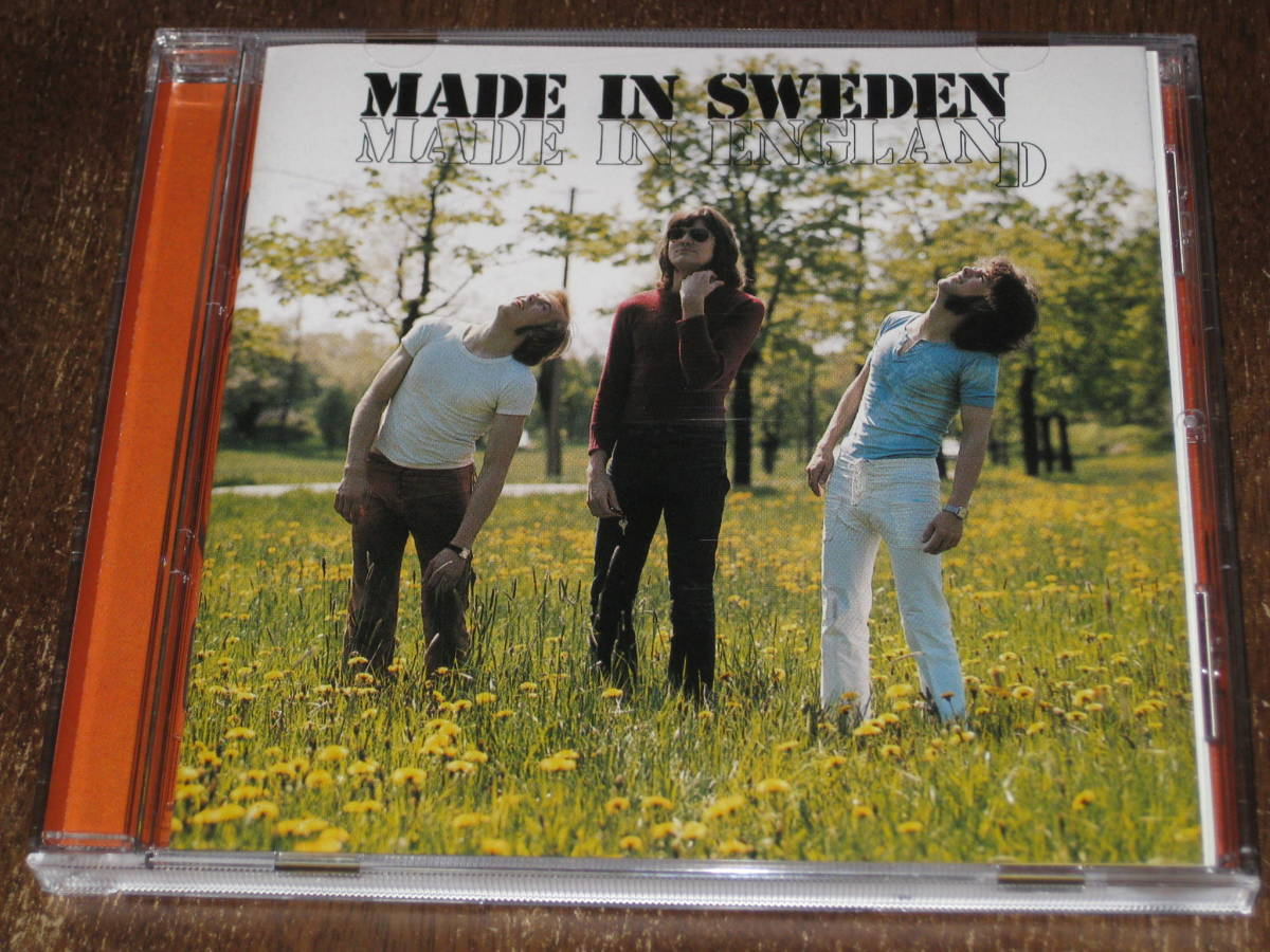 MADE IN SWEDEN メイド・イン・スウェーデン / MADE IN ENGLAND 2001年リマスターCD 輸入盤