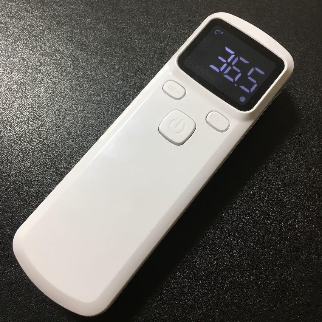 【新品】非接触型体温計 おでこ デジタル 非接触型物体温計 赤外線額物体温計 おでこ温度測定 デジタルディスプレイ 赤外線温度計_画像1
