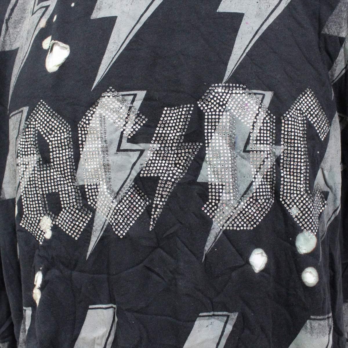サディスティックアクション SADISTIC ACTION アイコニック ICONIC COTURE メンズ半袖Tシャツ AC/DC Sサイズ 新品_画像2