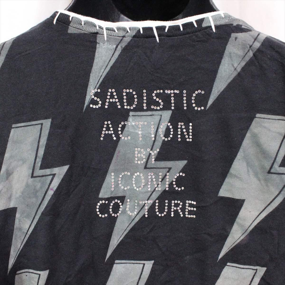 サディスティックアクション SADISTIC ACTION アイコニック ICONIC COTURE メンズ半袖Tシャツ AC/DC Sサイズ 新品_画像5