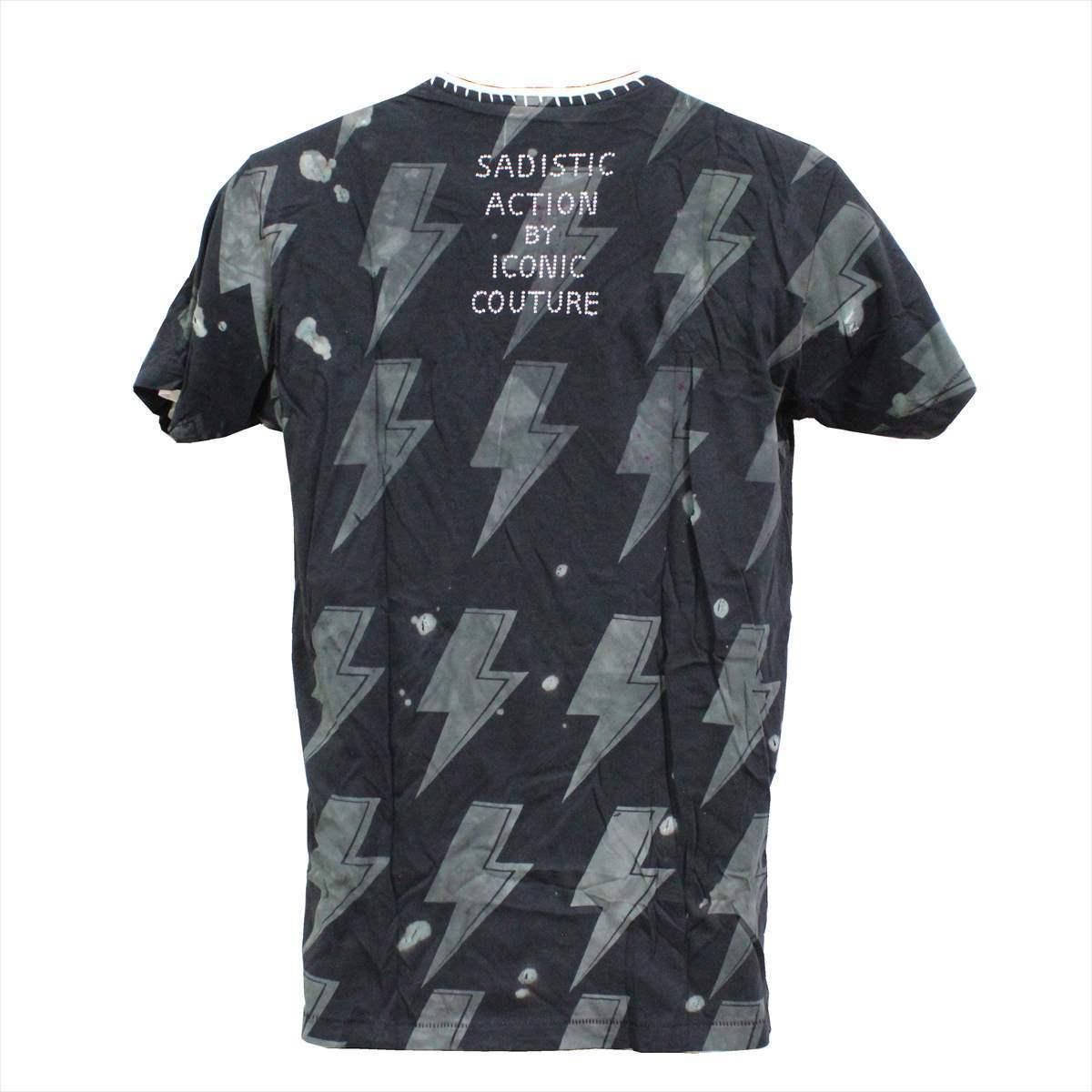 サディスティックアクション SADISTIC ACTION アイコニック ICONIC COUTURE メンズ半袖Tシャツ AC/DC Sサイズ 新品 アメリカ製_画像4