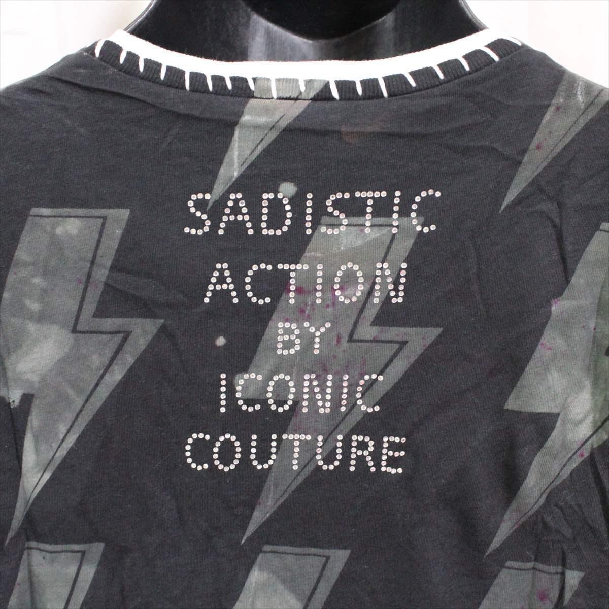 サディスティックアクション SADISTIC ACTION アイコニック ICONIC COUTURE メンズ半袖Tシャツ AC/DC Sサイズ 新品 アメリカ製_画像5
