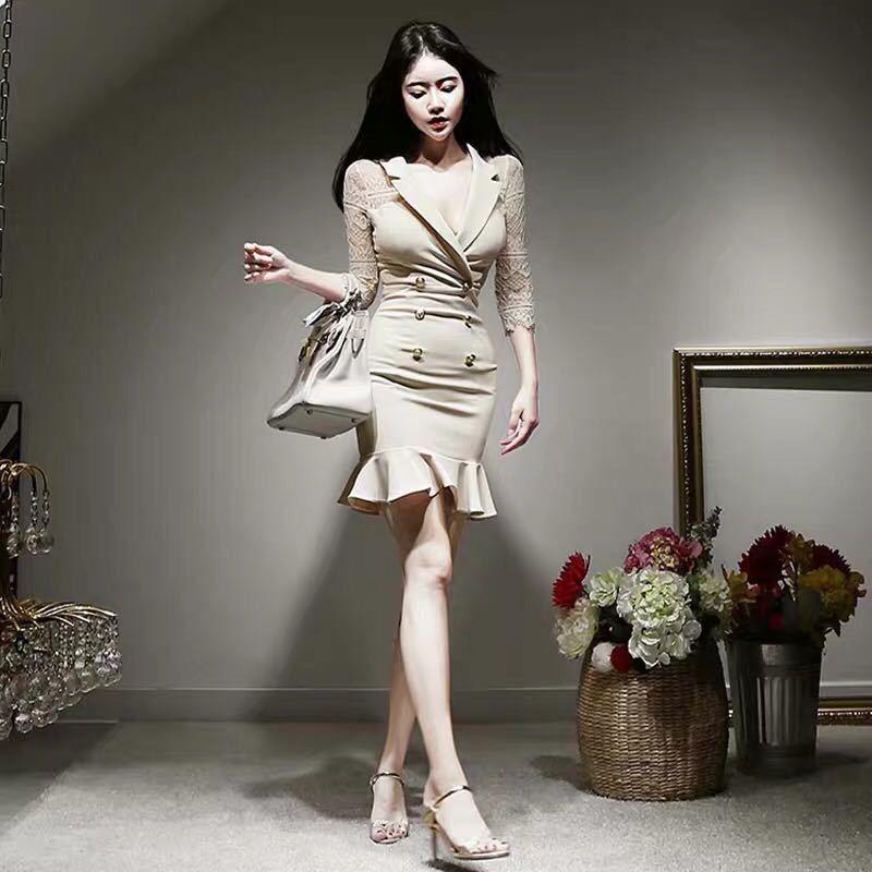 タイトワンピース ワンピースドレス 姫系ワンピース パーティードレス きれいめ 膝上丈 c1258