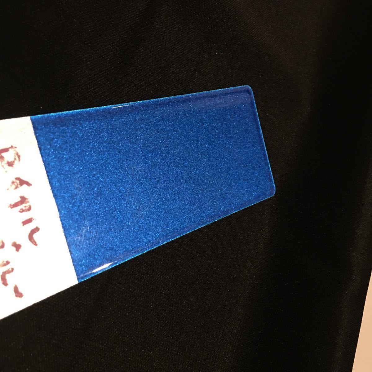 在庫処分★KMキャンディー ロイヤルブルー★耐候性がよく色褪せない 顔料タイプ キャンディー カスタムペイント フレーク ラメ 塗装_画像5
